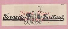 SCHWEINFURT/M., Anzeige 1925 und Rechnung 1929, Torpedo-Freilaufnabe