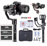 ZHIYUN Crane V2 3-Axis Handheld Stabilizer Gimbal Carry up to 3.96lb
