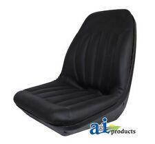 AI CS133-1V High Back Molded Dishpan Seat Black Case/IH 480B 580B 1190 1290 1390