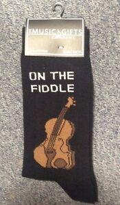Novelty On The Fiddle Socks