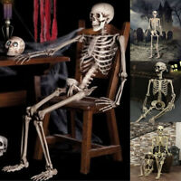 2019 Halloween New Poseable Human Skeleton Full Life Size 40cm Party Decoration
