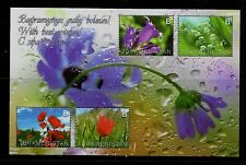 TURKMENISTAN - MINISHEET OF 2014 - FLOWERS