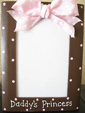DADDY'S PRINCESS - fathers day Dad photo picture frame