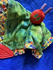 Used Hungry caterpillar Plush Blankie Chew Toy