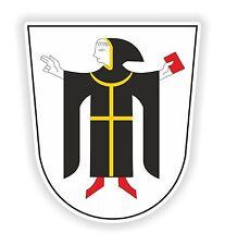 1x Sticker Munchen Munich Coat of Arms for Bumper Laptop Tablet PC Door Locker