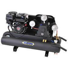 EMAX 6.5-HP 10-Gallon 3-Cylinder Gas Wheelbarrow Air Compressor w/ Honda Engine
