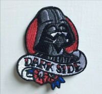 Star wars dark side badge clothes Embroidered Iron on Sew on Patch