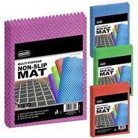 Anti Non Slip Rubber Mat Multi-Purpose Drawer Liner Carpet Rug Flooring Gripper