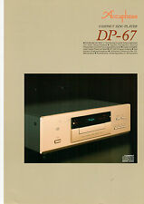Dépliant Accuphase dp-67 b567