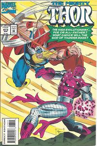 Mighty Thor #473 (April 94) - Balder, Sif, New Immortals, Godlings, the New Men