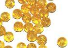 100 Perles Ronde Artisanale En Verre Colorées Et Craquelées-8mm-Choix De Couleur