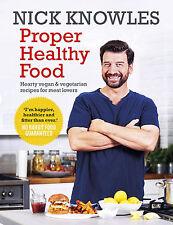 Proper Healthy Food Cook Book Eating Diet Vegan Vegetarian Plan Nick Knowles