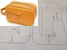 Leather Pattern DIY Designs Mini Bag Paper Sweing Template Drawing Tools 9079