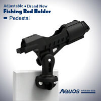 AQUOS Fishing Pole Rod Holder Tackle Kit Adjustable for Bass Fishing Wooden Boat