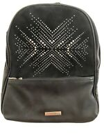 Steve Madden Madden Girl Mini Black Studded Backpack MSRP $58
