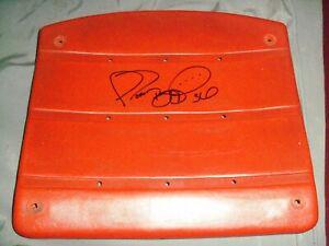 Jerome Bettis, Pgh Steelers, Signed Orange, 3 Rivers Stadium Seat, FULL NAME