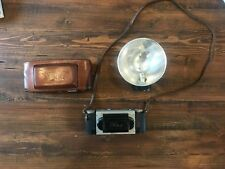 Stereo Realist f3.5 camera with case and flash- 35mm 3D photos
