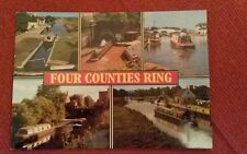 POSTCARD THE FOUR COUNTIES RING MULTI VIEW