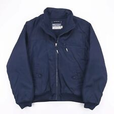 Vintage CHAMPION Blue Padded Puffer Bomber Jacket Men's Medium