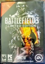 Battlefield 3: Limited Edition (PC, 2011) - 2 Discs, all Inserts, & Instructions