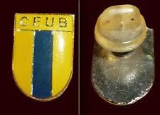 CLUB CEUB CENTRO DE ENSINO UNIFICADO, BRASILIA, BRAZIL - Old Football Pin 1980s