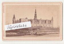 CdV Foto Schloss Kronborg Dänemark Helsingør Slot um 1870 ! (F1657