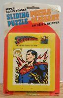 Superman DC Comics 1977 Sliding Puzzle French Canadian Card 121819DBT
