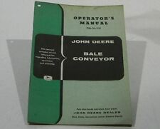 John Deere Operators Manual Bale Conveyor