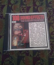 100 SOUND EFFECTS VOL.4 OVER 60 MINUTES OF PRO F/X Ultimate Collection