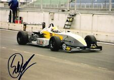 Stefan de Groot (European F3) SIGNED pitlane photo