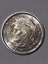 Moneta 2 euro Dante 2019
