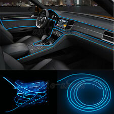 2M Blue Neon LED Light Glow EL Wire Car Strip Atmosphere Cold Light Lamp