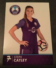 2017 Orlando Pride Steph Catley #7 Trading Card Womens Soccer NWSL Australia