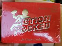 1991 Action Packed Rookies  Update Edition Football Factory Set FAVRE RC