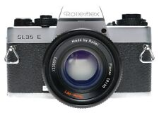 Rolleiflex SL35E 35mm SLR Film Camera Planar 1.8/50 Lens