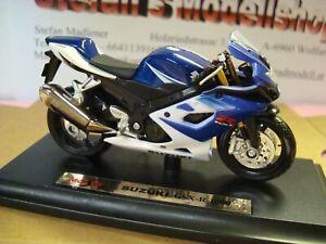 Suzuki GSX R 1000 - 2006 Blue White 1:18 Maisto
