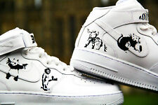 Custom Nike Air Force 1 Banksy size 7,8,9,10,11,12,13 any sizes NikeAirForce1