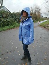 Lackmantel Regenmantel Lack Pvc Vinyl Herluf Design Raincoat 44 XL