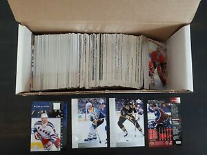 1996-97 Upper Deck , LOT of 260 Hockey Cards, No Duplicates, Near Mint