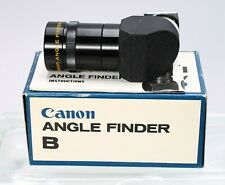 CANON ANGLE FINDER B for AE-1, A-1, ETC -- EX+