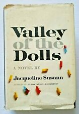Valley of the Dolls Jacqueline Susann 1st Edition 10th Printing 1966 Book Hc/Dj