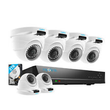 Reolink 8Ch 4Mp Poe Cctv Home Video Security Camera Surveillance System 2Tb Hdd