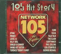 105 Hit Story - Sting/The Cure/Talk Talk/Rem/Billy Idol/Clash Cd Ottimo