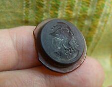 Antique 19th Century Tassie Intaglio Dragon Soldier Wax Seal Stamp