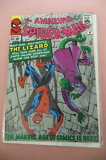 9.0 VF/NM AMAZING SPIDER-MAN # 6 DANISH EURO VARIANT OWP 1ST LIZARD YOP 1992