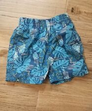 Childrens Place Infant Boys Shorts Blue Beach Hawaiin 24 Months