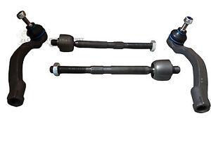 Inner Track Tie Rod End Paire pour RENAULT GRAND SCENIC à partir de 2009 To 2016 MQ