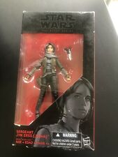 Hasbro Star Wars The Black Series Rogue One SERGEANT JYN ERSO Action Figure