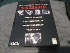 """COFFRET 3 DVD NEUF """"LES DOSSIERS SECRETS DU NAZISME"""""""