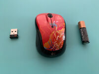 Logitech Wireless Mouse M325 with Designed-for-Web Scrolling (Crimson Ribbons)
